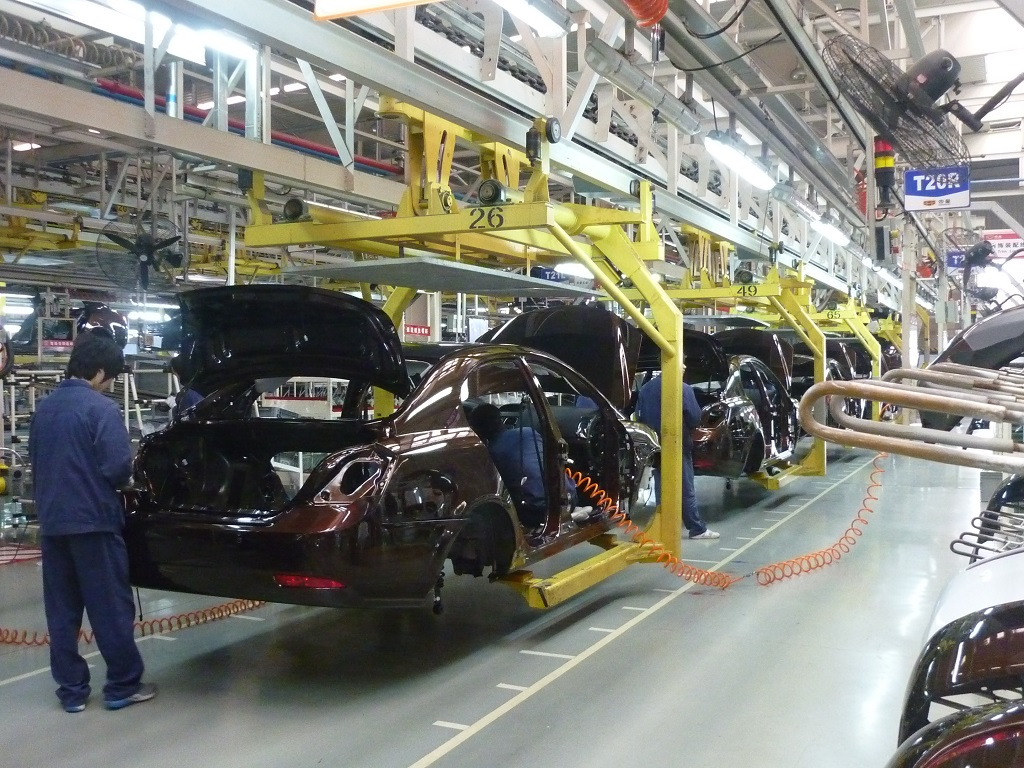 Career in Automobile Industry